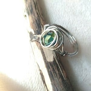 Boho Style Ring - Wire Wrapped Ring